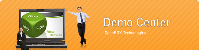 Demo Center - OpenBOX CRM Solutions and Expanded Enterprise Solutions. See it in Action!
